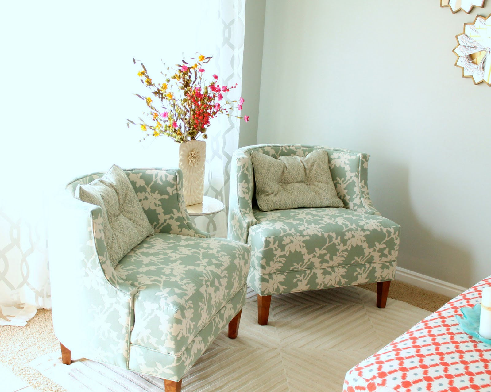 Living room makeover by four chairs furniture six for Living room 4 chairs