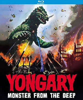 Yongary Monster From the Deep Blu-ray cover