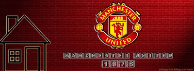 Manchester United Facebook Cover Red Brick
