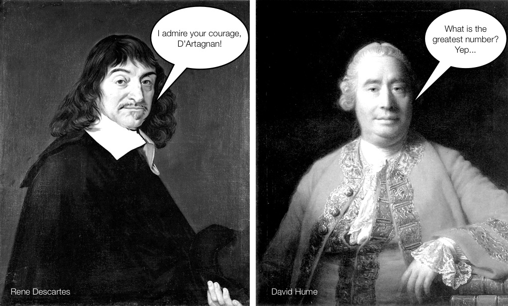 exploring the epistemology of rene descartes and david hume