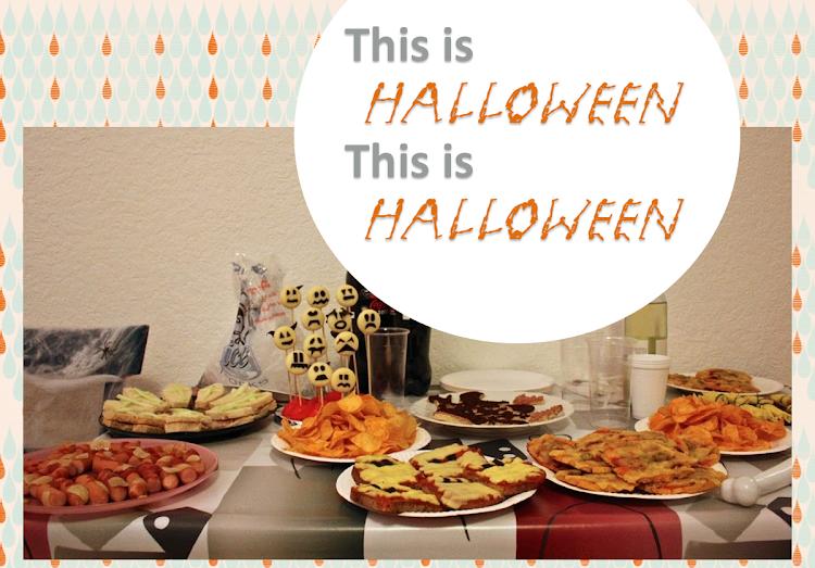 Ideas fiesta Halloween recetas maquillaje
