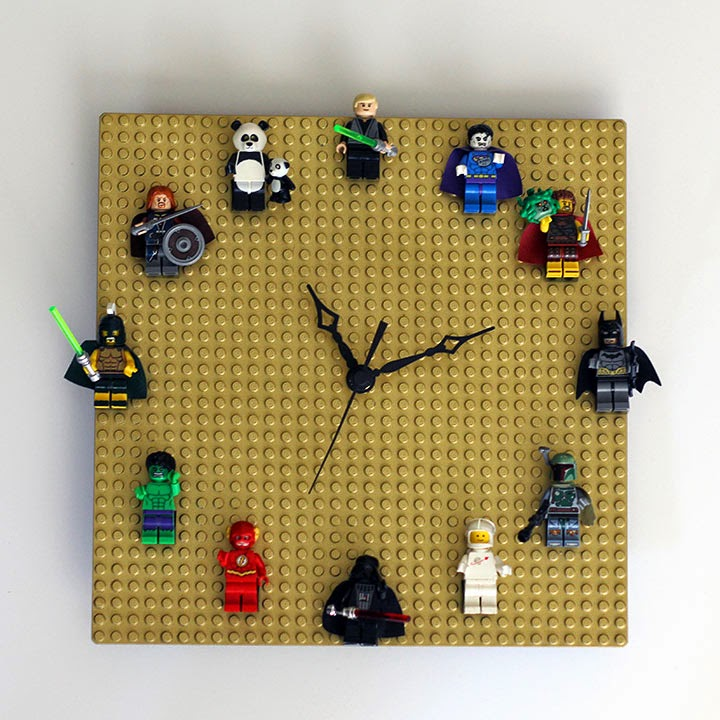 a clock kit and a lego base plate make a really fun gift for any lego fan our nerd home shares all of the details on how to make your own