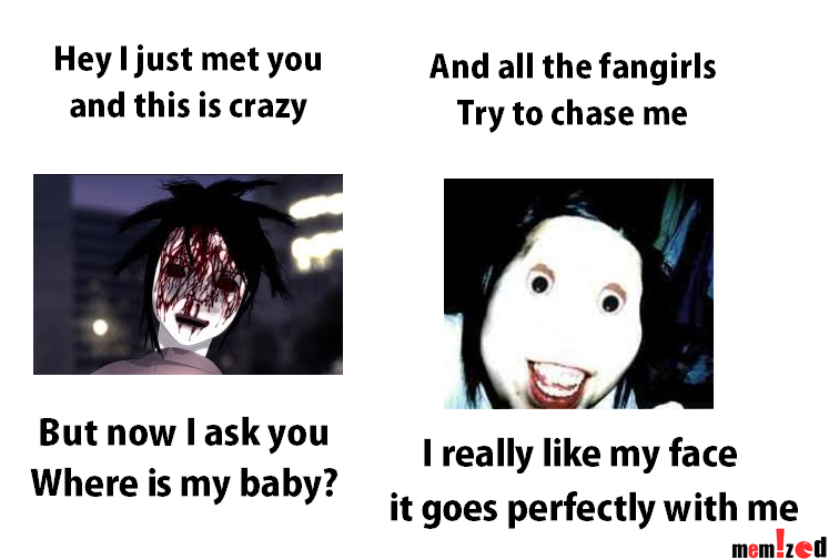 creepypasta meme bongcheondong ghost and jeff the killer