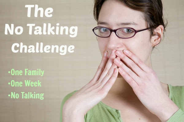 This family isn't talking for a week to learn how to communicate better and help the kids get along. #parenting