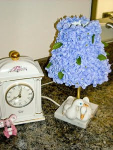 DIY Floral Lampshade