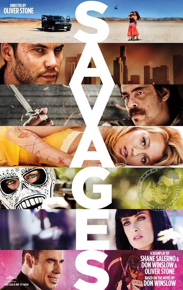 Savages Movie Poster via DL-Central.Net!