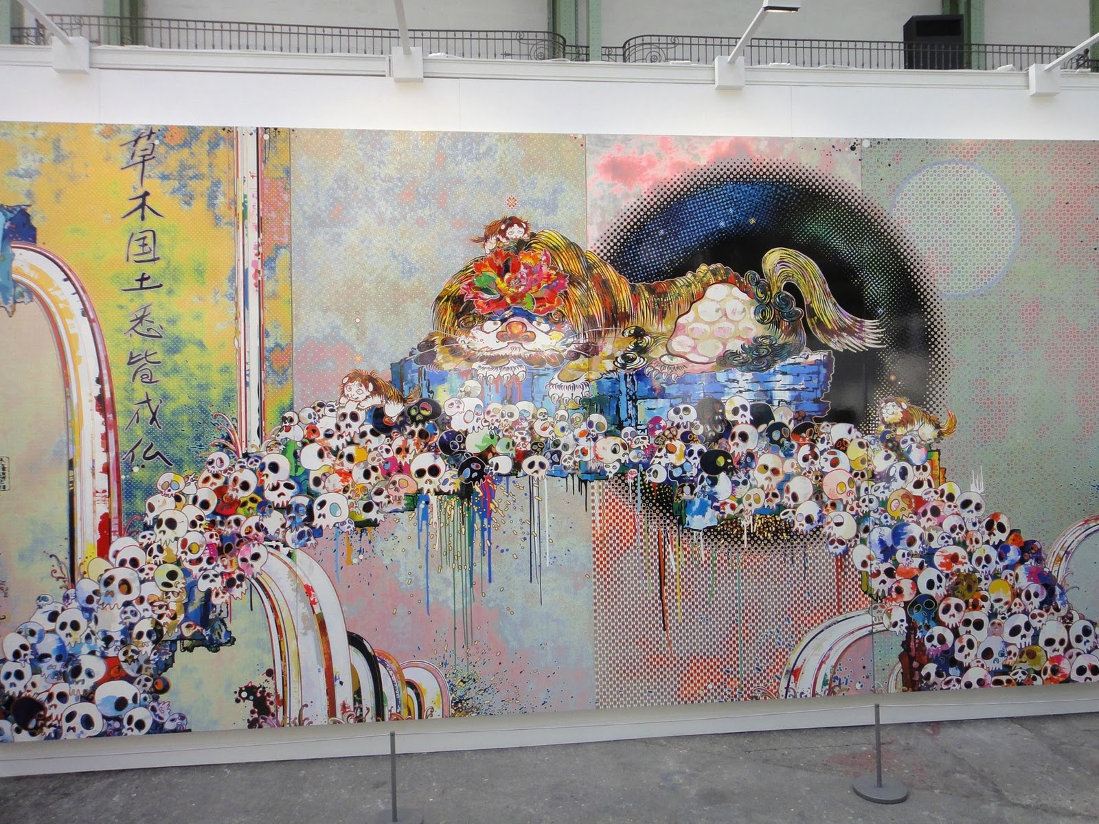 Fiac 2011 paris coverage with kaws banksy jr takashi murakami keith haring streetartnews - Expo street art paris ...