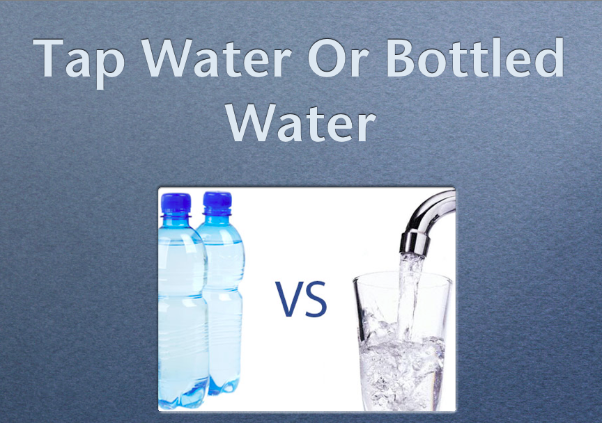 an analysis of the discussion tap water vs bottle water