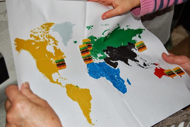 four continent world burger tour