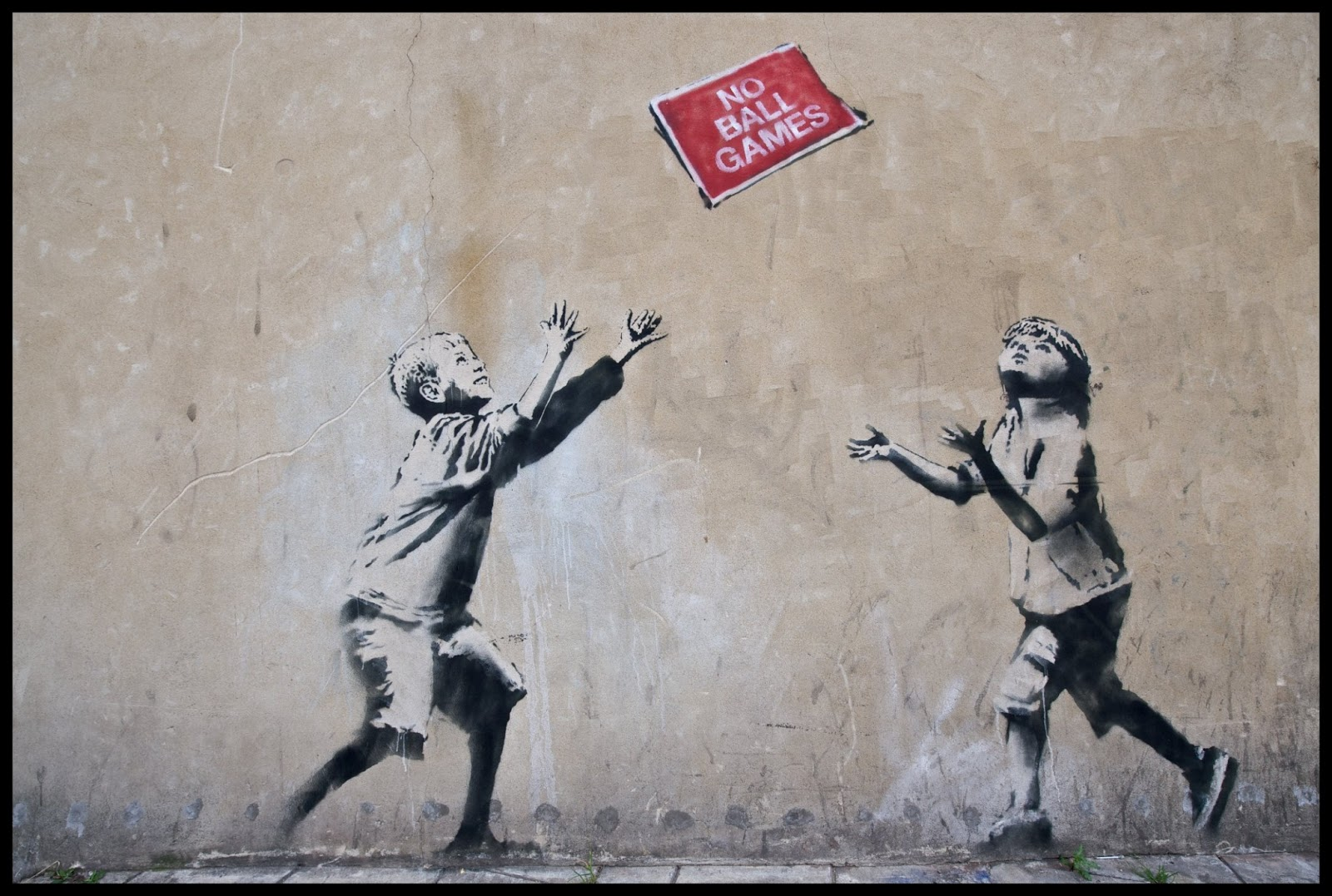 Doctor Ojiplatico. Banksy - Graffitis y Frases | Graffiti & Quotes