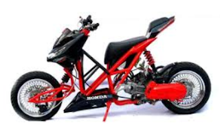 Modifikasi Motor Vario CW 2013