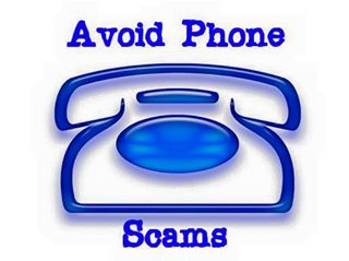 Avoid Phone Scams: Phone scammers will claim to be a member of the police department or a utility service and request personal or credit card information