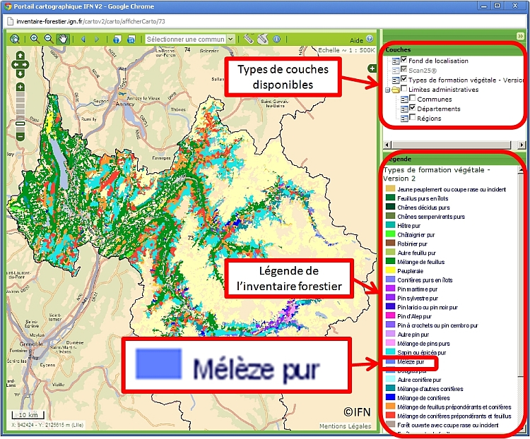 [Article] Trouver les spots à mélèzes Tuto_melezes_1
