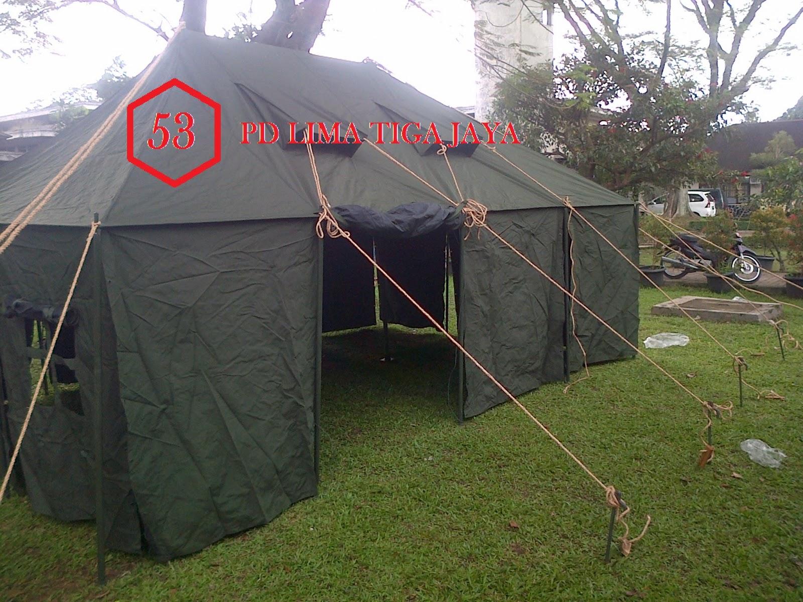 jual tenda komando standar tni , pusat tenda bandung ,tenda murah bandung