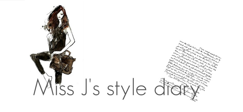 Miss J's style diary