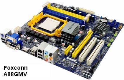 Foxconn A88GMV - AM3 Socket