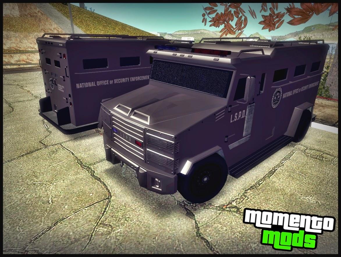 GTA SA - Police Riot Convertido Do GTA V
