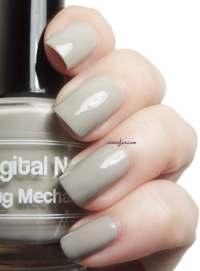 xoxoJen's swatch of  Digital Nails Tauping Mechanism
