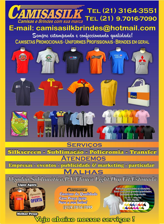 Camisetas promocionais,Camisetas personalizadas,Serigrafia,Brindes,sublimação,camisas com silk