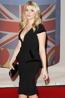 Holly Willoughby Busty In A Little Black Dress