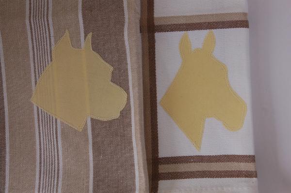 A Handmade TaleMonogrammed Tea Towel Tutorial