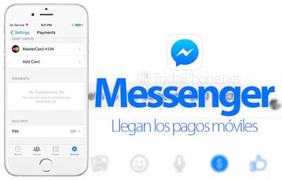 Envía dinero por Facebook