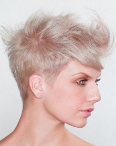 Chic Short Choppy Layered Haircut 2014