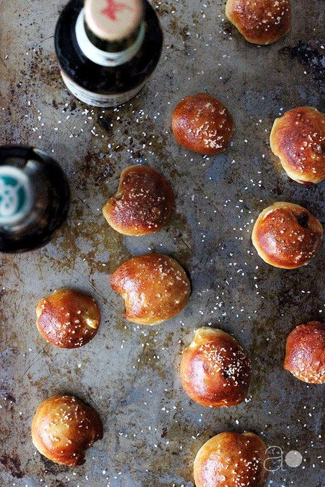 how to make homemade pretzels bites