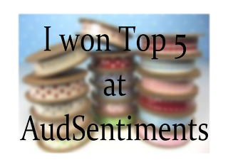 I made it to TOP 5 at  AUD Sentiments :)