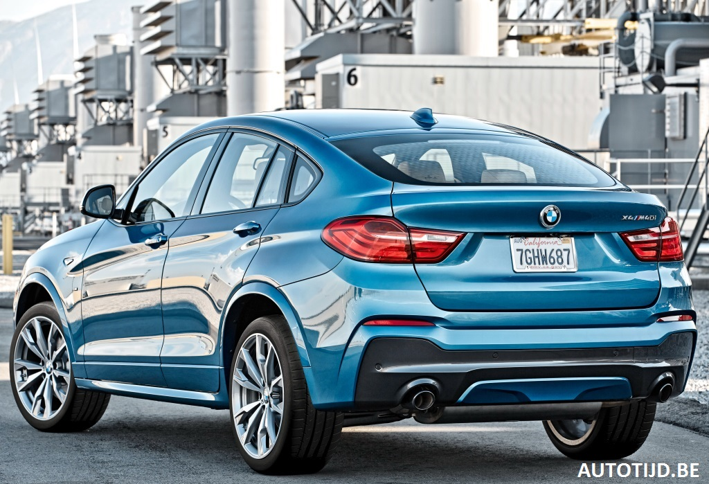 2017 Bmw X4 M40i Gets Fresh Gallery With 28 New Pics Carscoops
