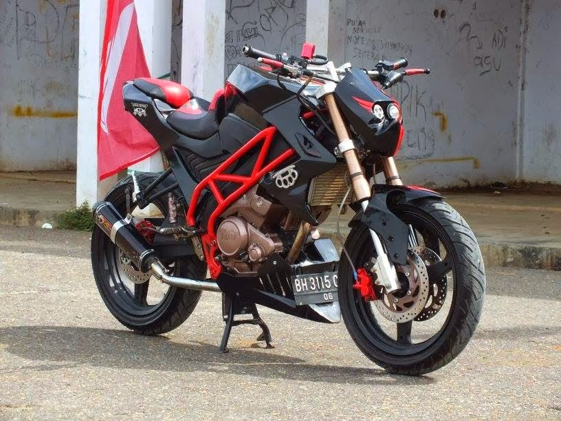 Modifikasi New Yamaha Vixion 2014 Terbaru, Streetfighter  Holiday and