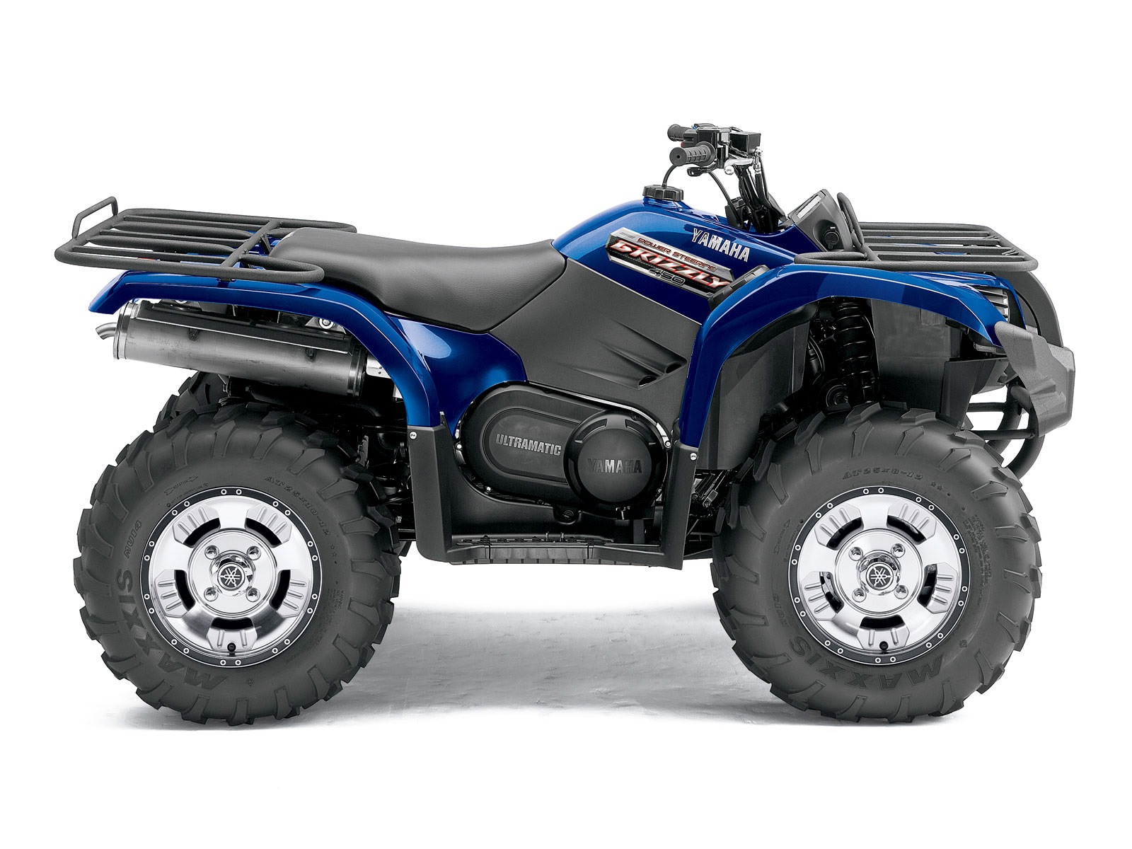 2012 yamaha grizzly 450 auto 4x4 eps atv pictures for Yamaha 4 wheeler 4x4