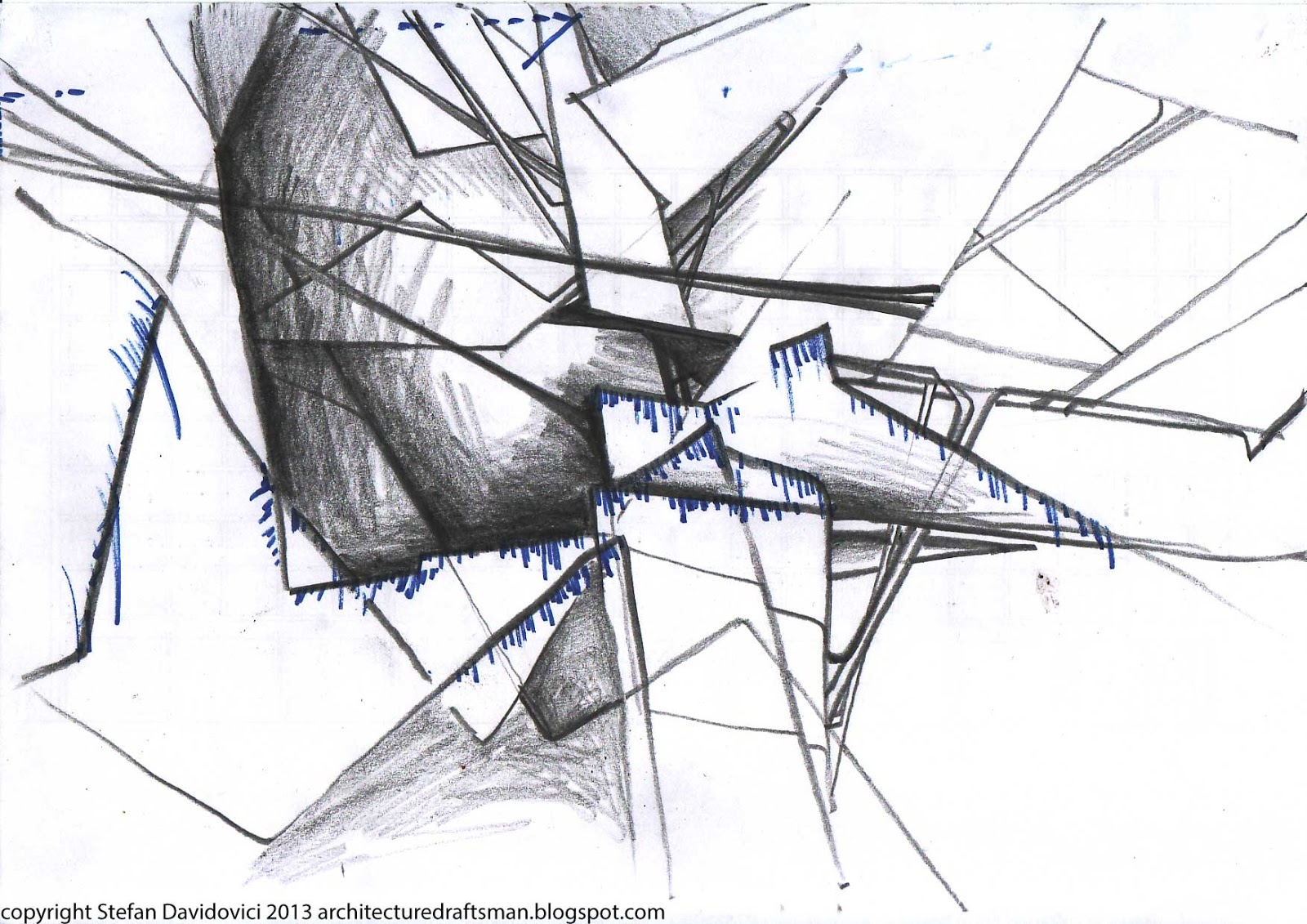 The Architecture Draftsman ABSTRACT ARCHITECTURE