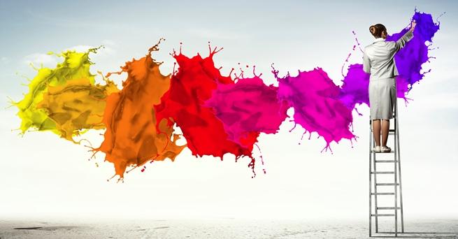 Renkler, boya
