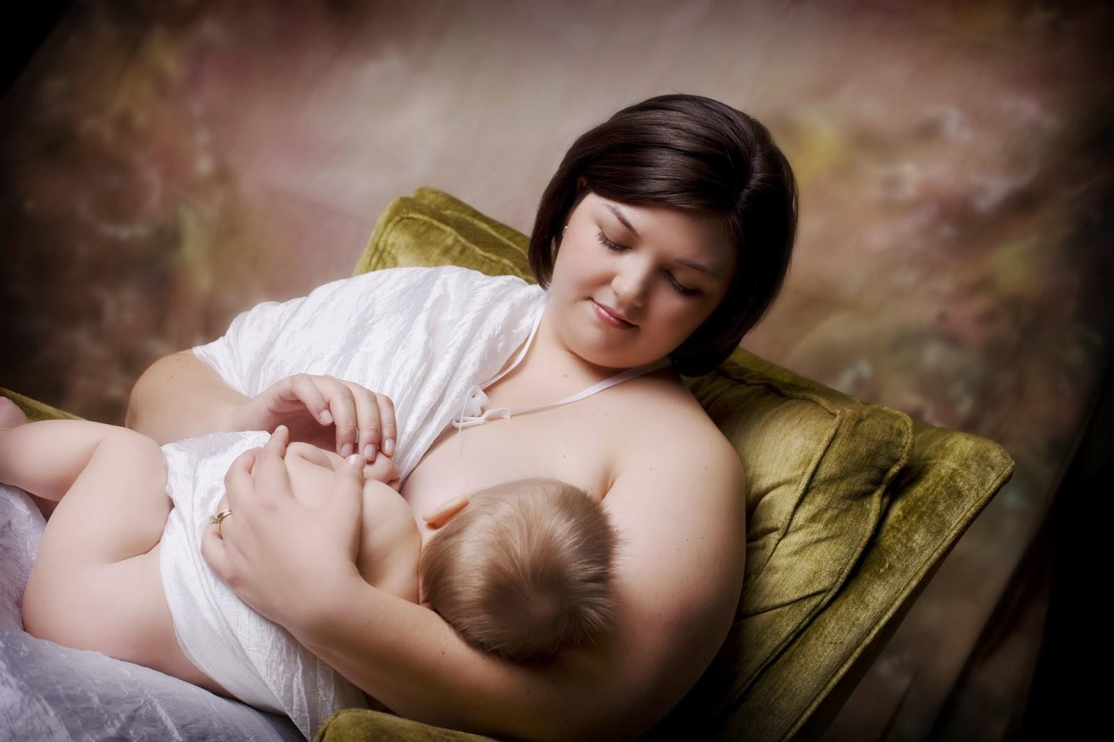 Красивые фото с грудными детьми
