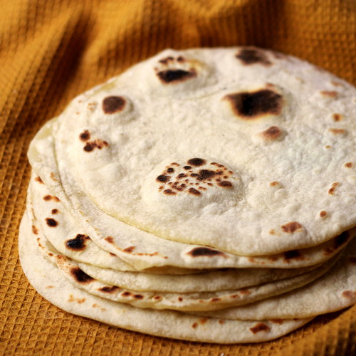 rise time these cook very quickly flour and potato tortillas