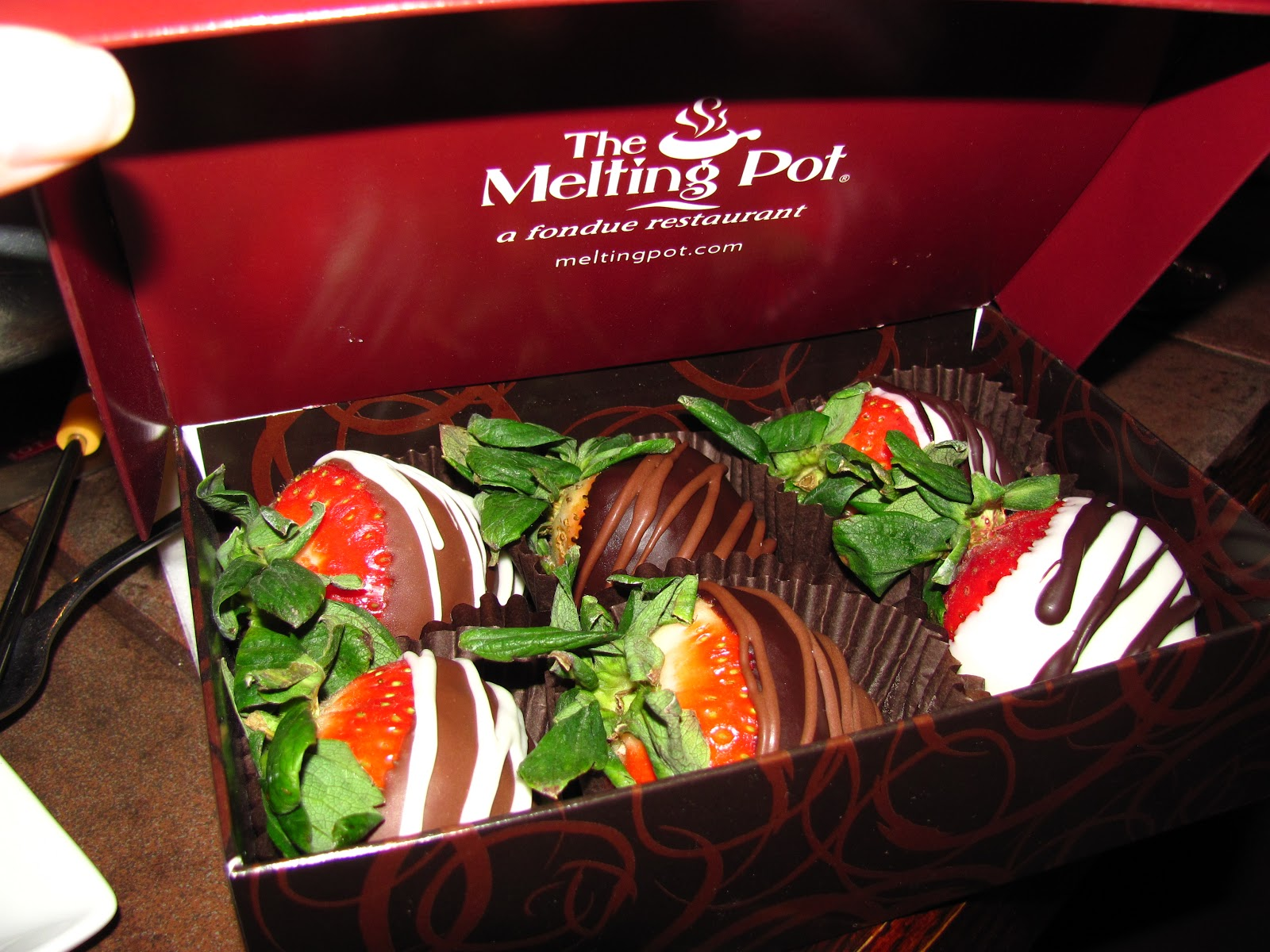 For the Love of Food: The Melting Pot's Flaming Turtle Chocolate ...