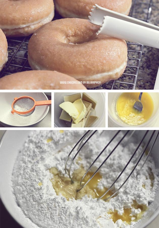 receta glaseado donuts