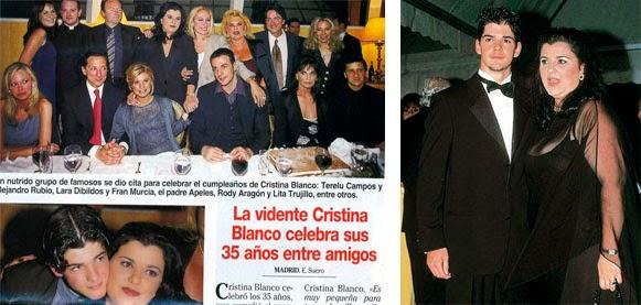 Miguel Ángel Muñoz es hijo de Cristina Blanco