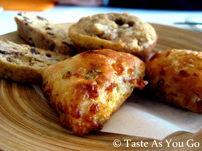 Assorted Breakfast Pastries at Bolete Restaurant and Inn in Bethlehem, PA - Photo by Michelle Judd of Taste As You Go