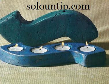 Como hacer candelabros de cemento - Como hacer candelabros ...