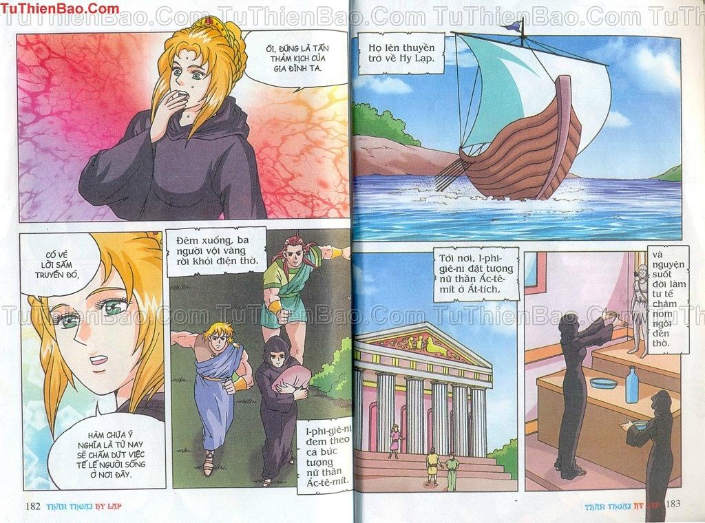 Thần thoại Hy Lạp Chapter 14 - Trang 90