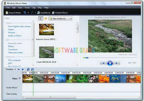software edit video - wmm 2012