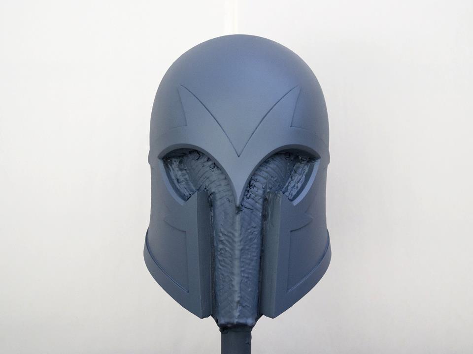 Greg Peltz: Magneto Helmet Build pt. 1