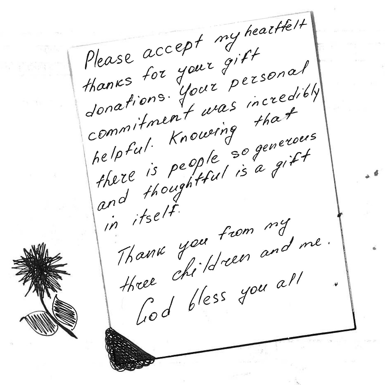 Behind the Scenes with JFS: A Very Special Thank You Note