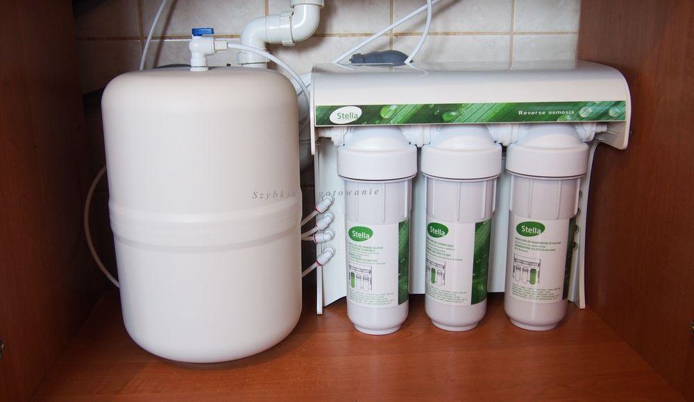 Kuchenny filtr odwróconej osmozy do wody Puricom Stella - test