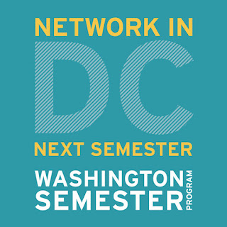 Network in DC next Semester with the Washington Semester Program