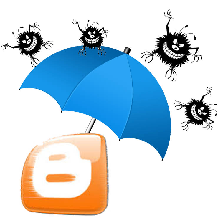 كيفية إزالة الفيروسات من مدونة بلوجر Blogger-antivirus