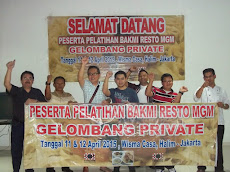 Pelatihan Bakmi MGM Gel Private, Tgl 11 & 12 April 2015