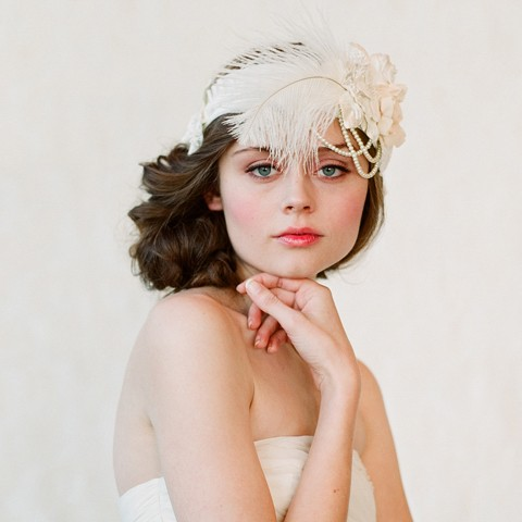 When choosing a fun headband for your wedding a few things to consider